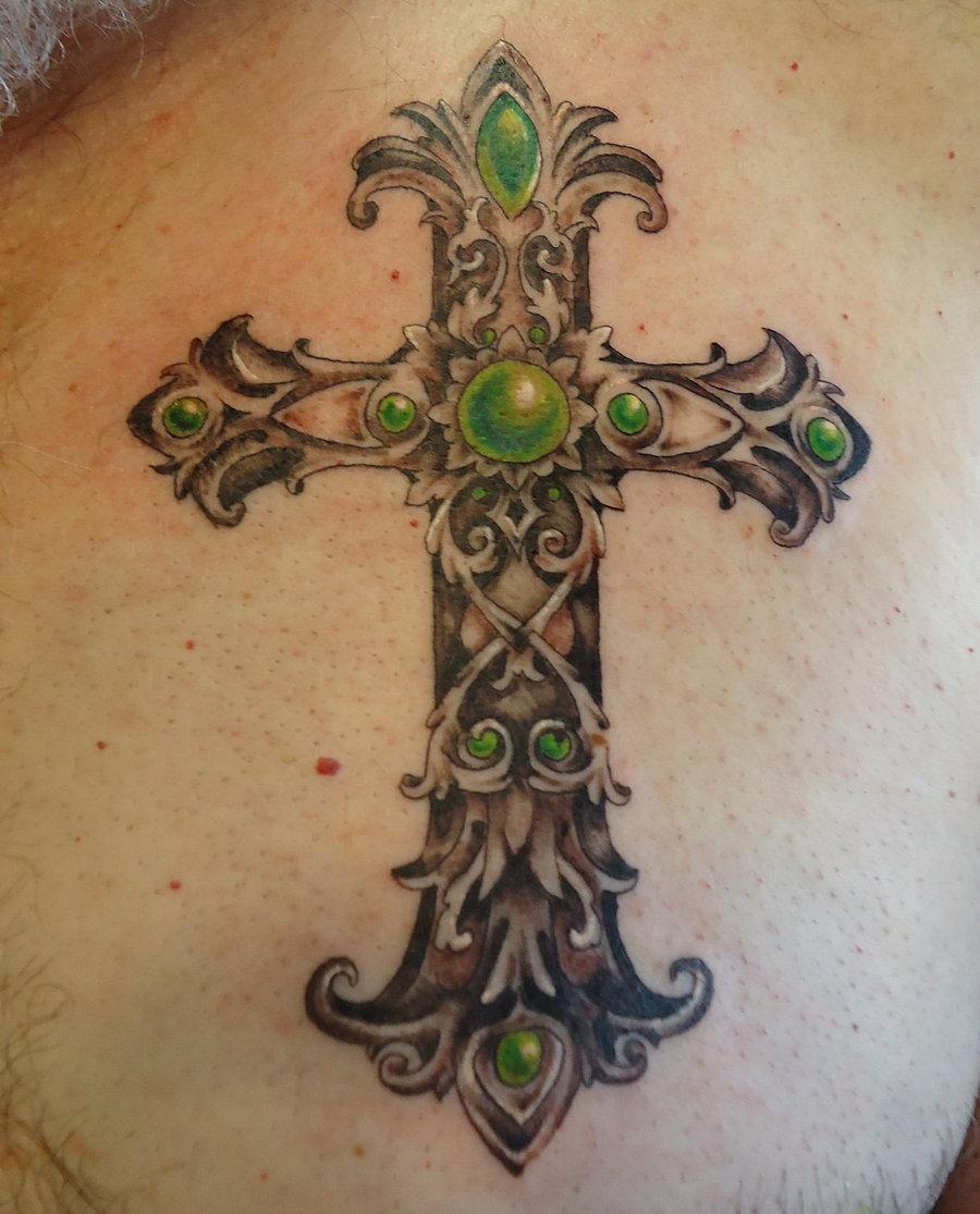 Eye catching cross tattoos for women tattoomagz for Cross tattoo under eye